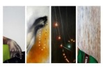 I tried to Capture...,4 Panels 8 X 20 in, 2013 - Copy