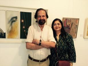 Rameshwar Broota and Vasundhara Tewari Broota